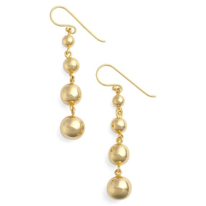 Best Statement Earrings Under $50 - Argento Vivo Linear Drop Earrings