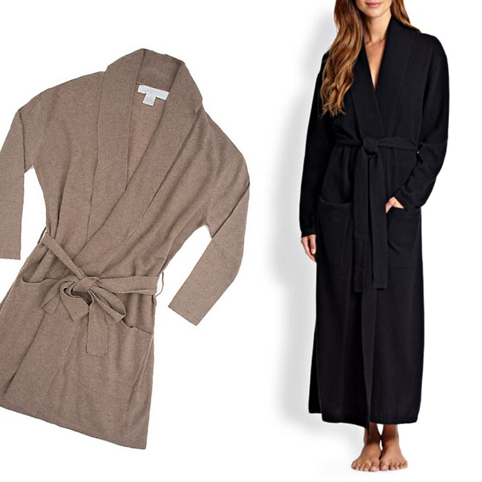 Best Loungewear for Fall - Arlotta Cashmere Robe