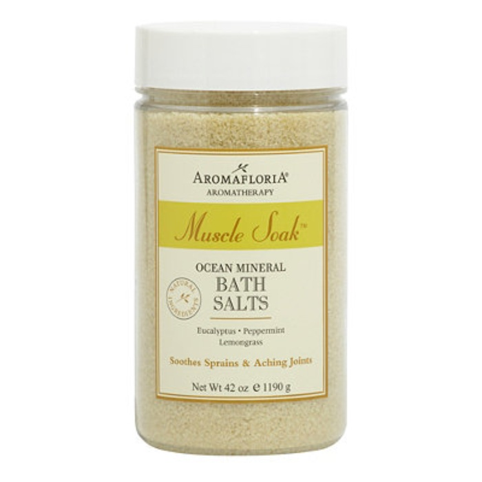 Best Bath Soaking Salts - Aromafloria Muscle Soak Ocean Mineral Bath Salts