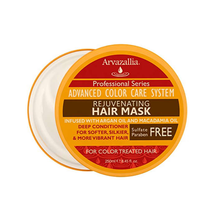 Best Products For Color Treated Hair - Arvazallia Rejuvenating Hair Mask and Deep Conditioner For Color Treated Hair