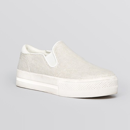 Best Stylish White Sneakers - Ash Jungle Bis Shiny Sneakers