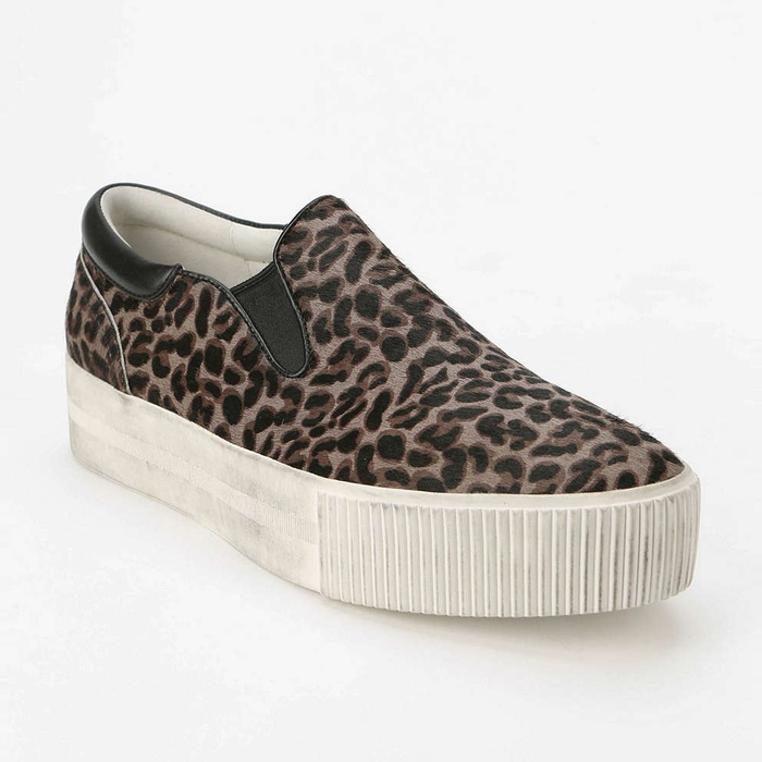 Best Slip On Sneakers - Ash Karma Calf Hair Platform Skate Sneakers