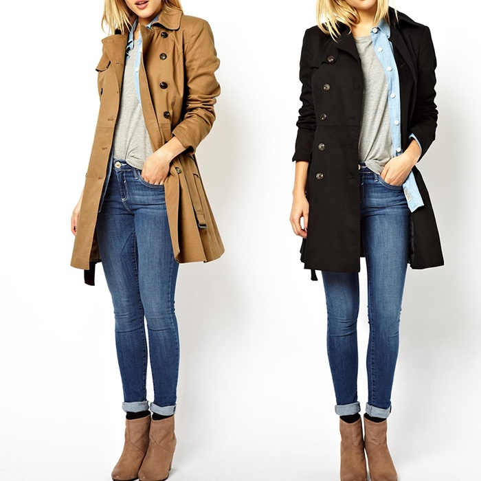 Best Trench Coats Under $400 - ASOS Classic Trench