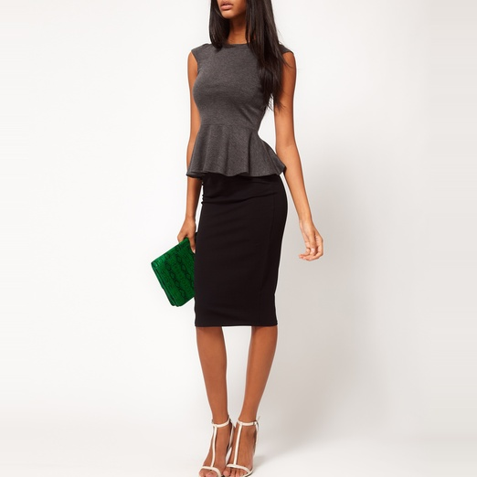 Old Navy Jersey Pencil Midi Skirt | Rank & Style