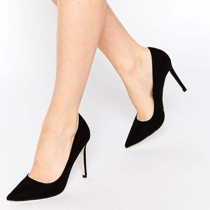 Best Black Pumps Under $100 - ASOS PERU Pointed High Heels