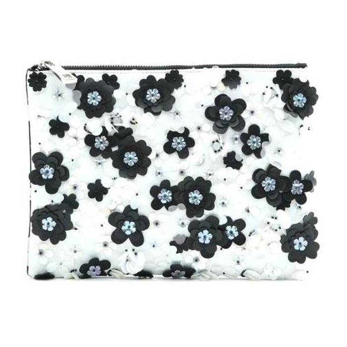 Best Statement Clutches - ASOS Pretty Floral Embellished Zip Top Clutch