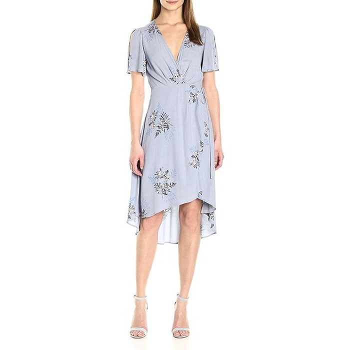 Best Amazon Dresses Under $150 - ASTR Women's Adeline Floral Print Wrap Dress