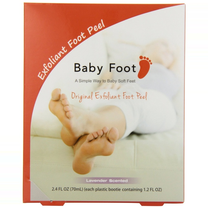 Best At Home Pedicure Essentials - Baby Foot Deep Exfoliation For Feet Peel