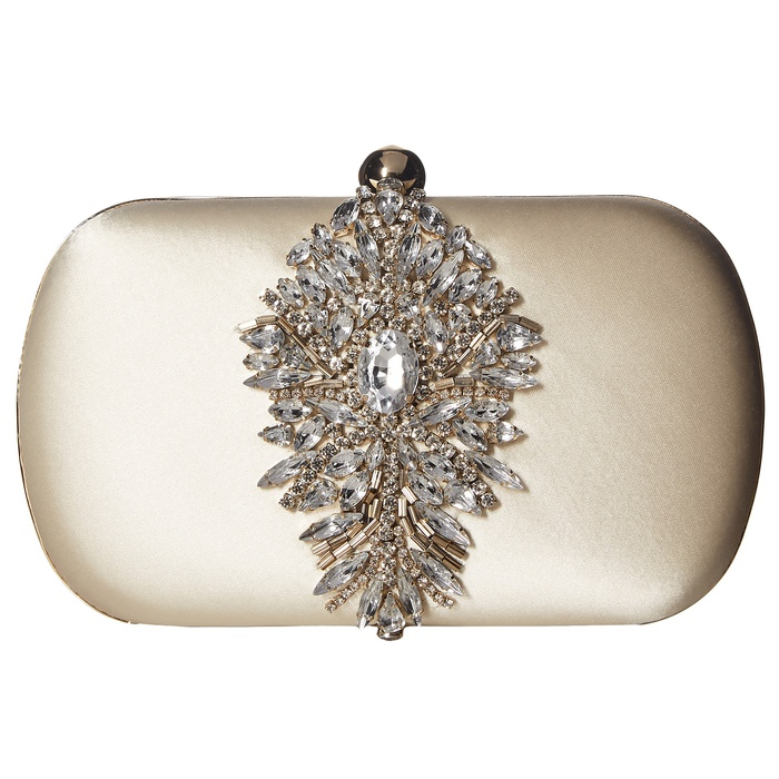 Best Bridal Handbags - Badgley Mischka Aurora Clutch