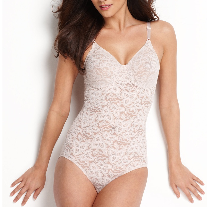 Best Body Shapers - Bali Firm Control Lace N Smooth Body Shaper 8L10