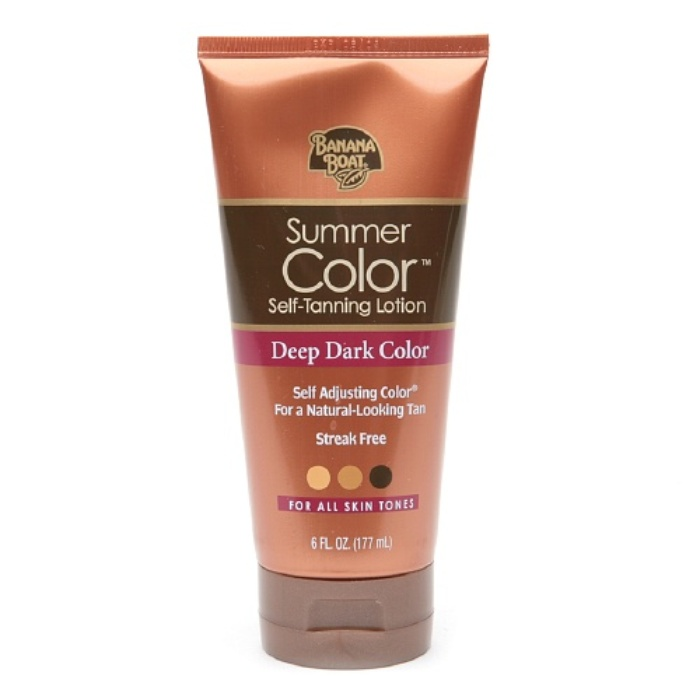 Best Self Tanners - Banana Boat Sunless Summer Color Self Tanning Lotion
