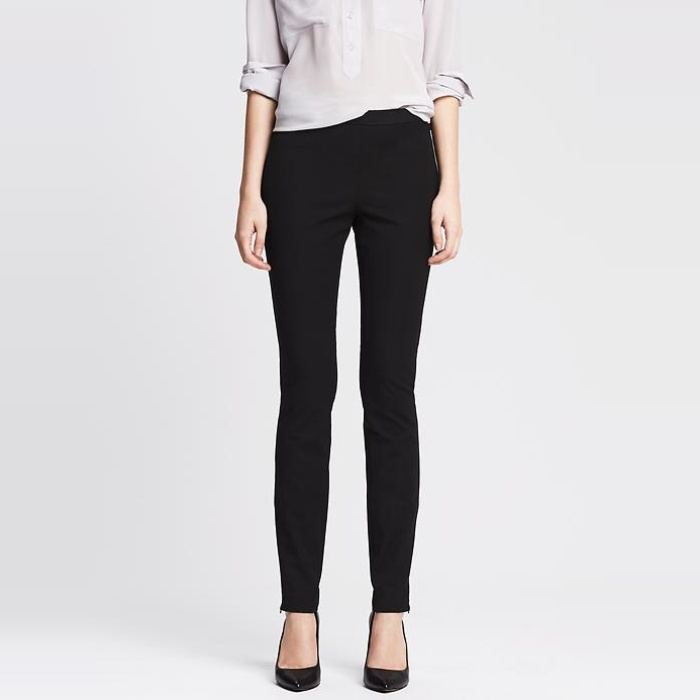 Best Work Pants Under $100 - Banana Republic Sloan-Fit Slim Ankle-Zip Pant