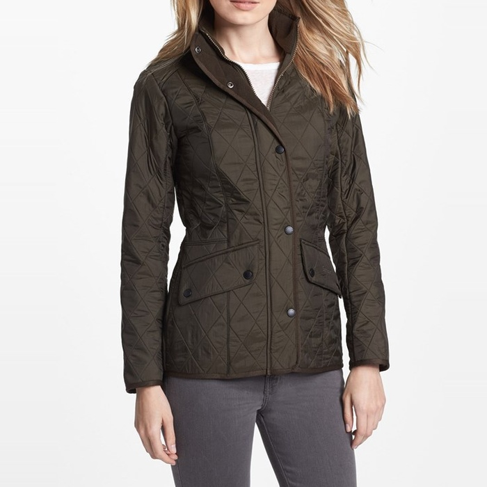 Best Military Style Coats - Barbour 'Cavalry' Quilted Jacket