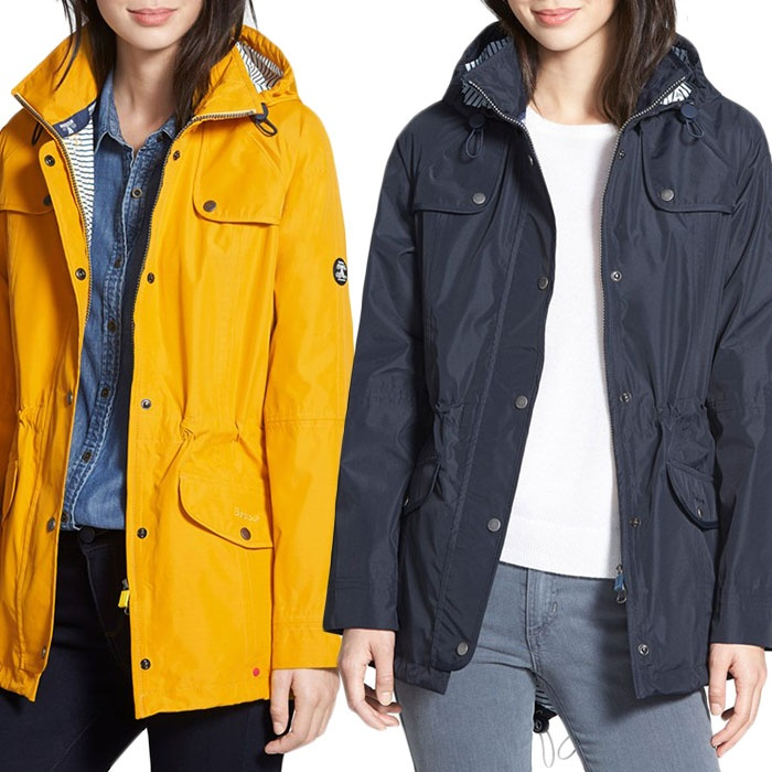 Best Spring Jackets - Barbour Trevose Waterproof Hooded Jacket