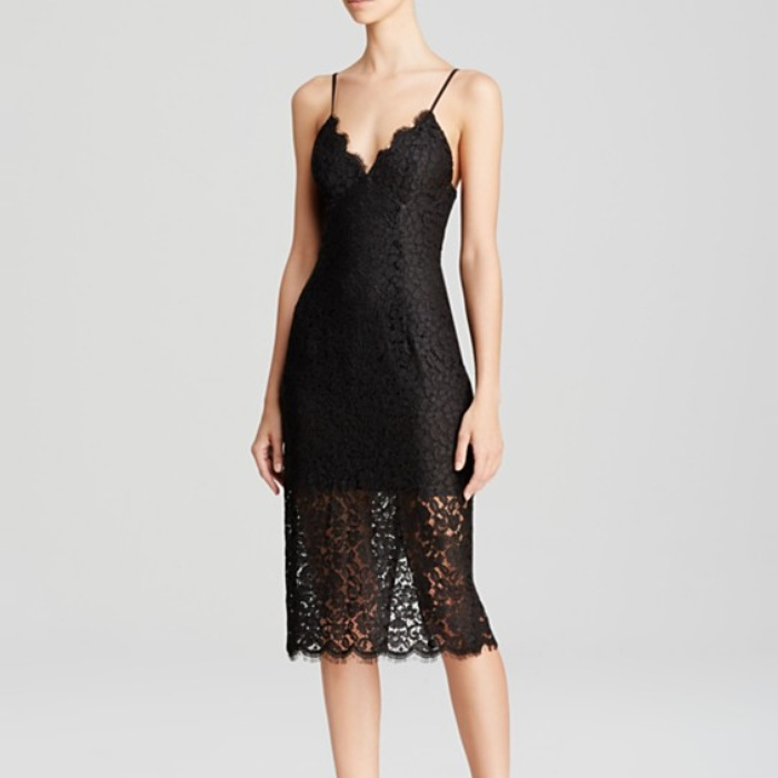 Best Dresses Under $250 for Summer Weddings - Bardot Lace Dress