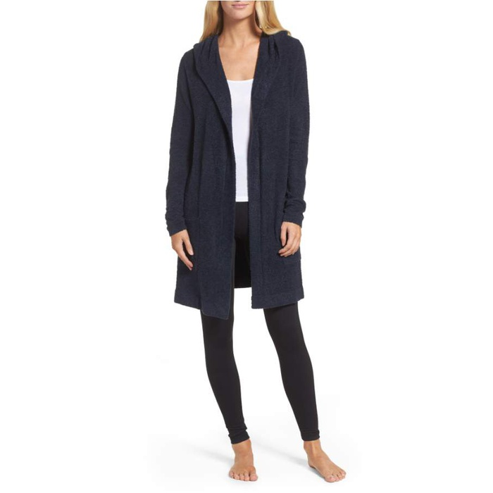 Best Nordstrom Anniversary Sale 2017 Essentials - Barefoot Dreams Cozychic Lite Coastal Hooded Cardigan