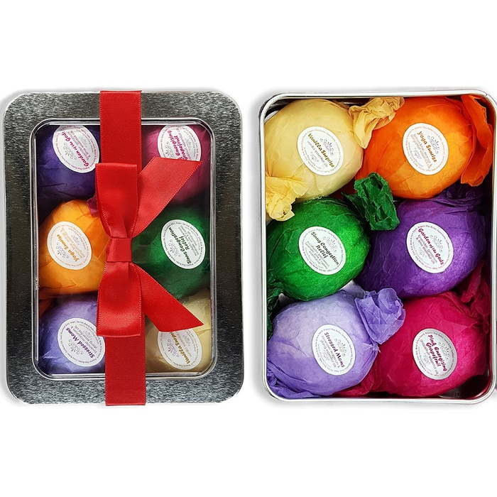 Best Beauty Stocking Stuffers Under $20 - Bath Bombs Gift Set