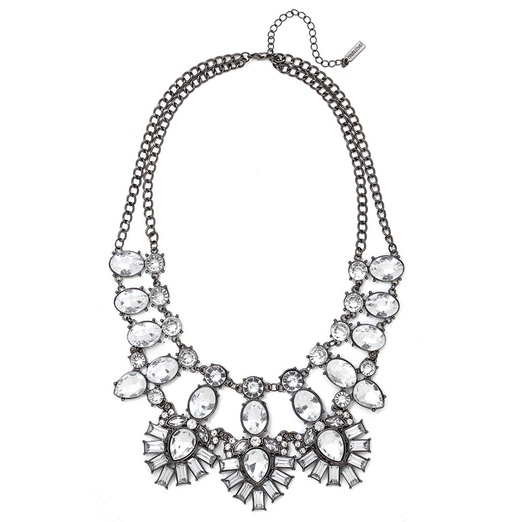 Best Jewels that Make the Best Statement this Season! - BaubleBar CRYSTAL FEATHER BIB