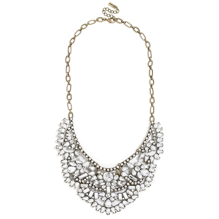 Best Crystal Statement Necklaces - BaubleBar Crystal Rapunzel Bib