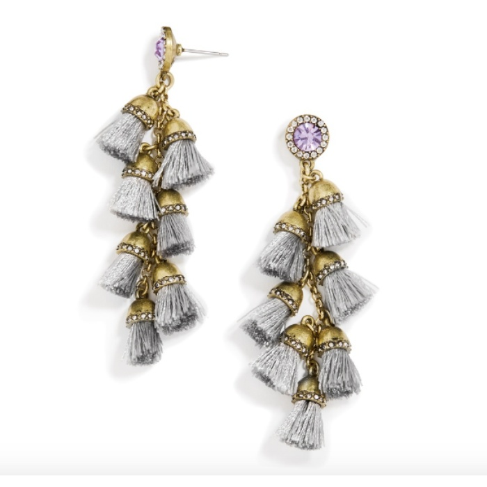 Best Statement Earrings Under $50 - BaubleBar Firenze Fringe Drops