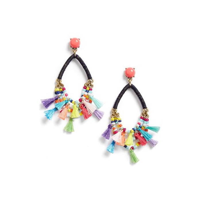 Best Spring Vacation Essentials - BaubleBar Merengue Drop Earrings
