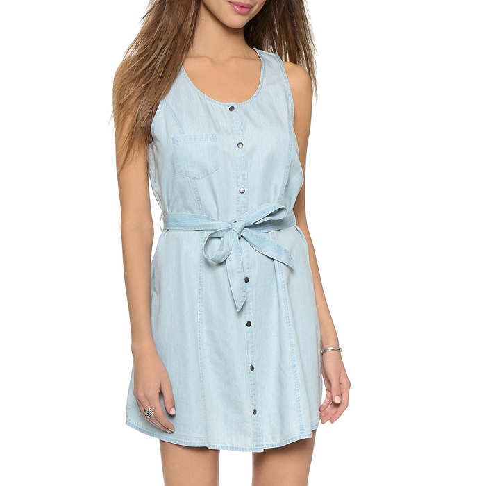 Best Summer's Best Chambray Fashion - BB Dakota Gerrit Chambray Dress