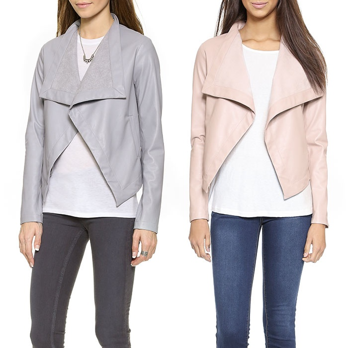 Best Spring Jackets - BB Dakota Lillian Drapey Front Jacket