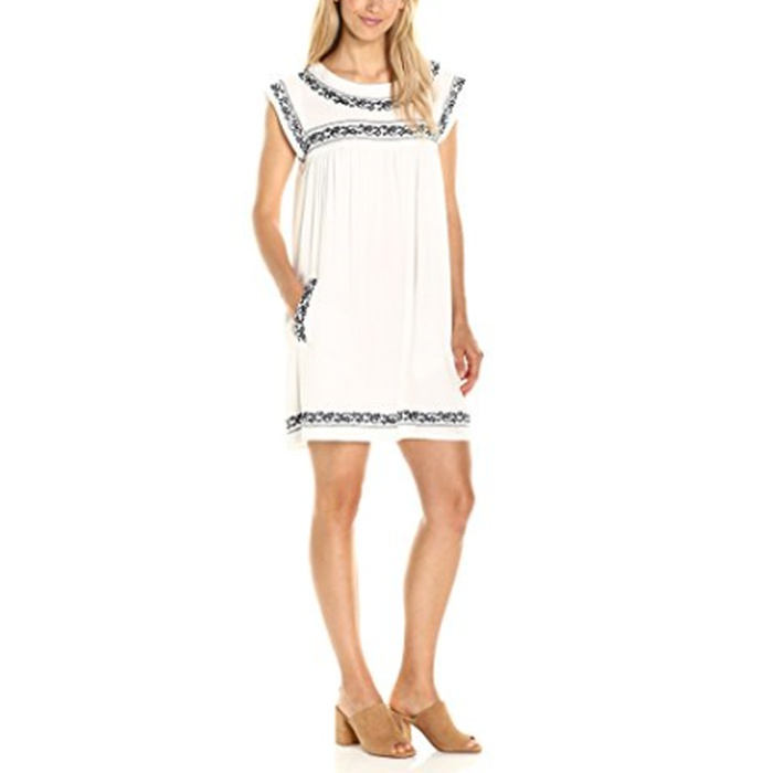 Best Amazon Dresses Under $150 - BB Dakota Raelynn Embroidered Shift Dress