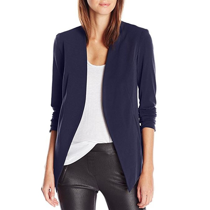 Best Women's Fashion Blazers - BCBGeneration Tuxedo Blazer Jacket