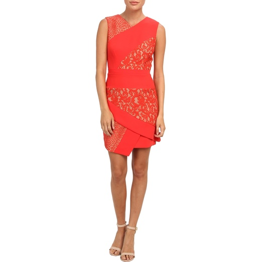 Best Date Night Dresses - BCBGMAXAZRIA Dress - Dalia Asymmetric