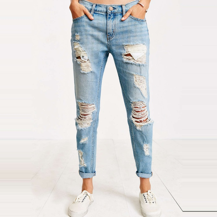 BDG Slim Boyfriend Jean - Slash | Rank & Style