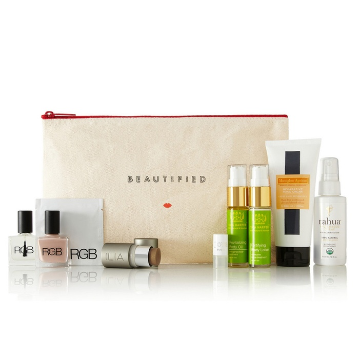 Best For the Frequent Flyer - Beautified Natural Nomad Beauty Pouch