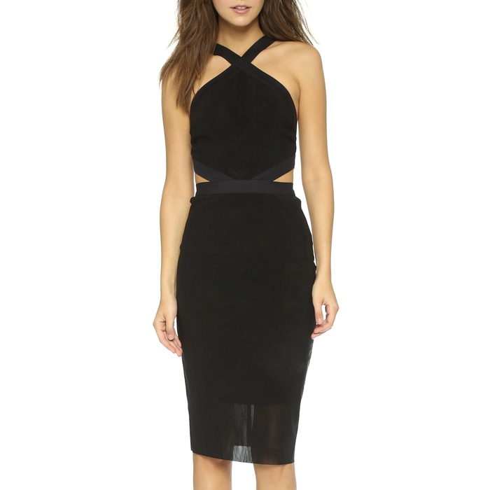 Best Cut Out Dresses Under $300 - Bec & Bridge Parallel Halter Dress