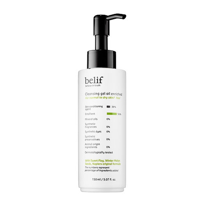 Best Beauty Products for Uneven Skintone - Belif Cleansing Gel Oil Enriched
