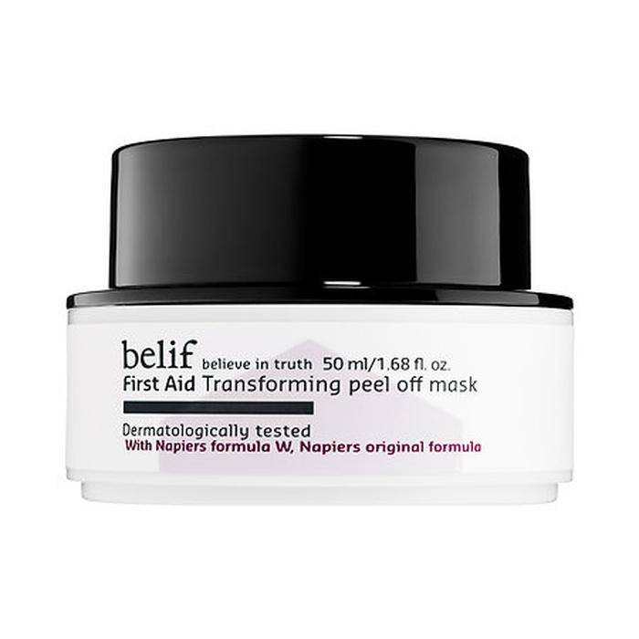 Best Peel-Off Face Masks - Belif First Aid Transforming Peel Off Mask