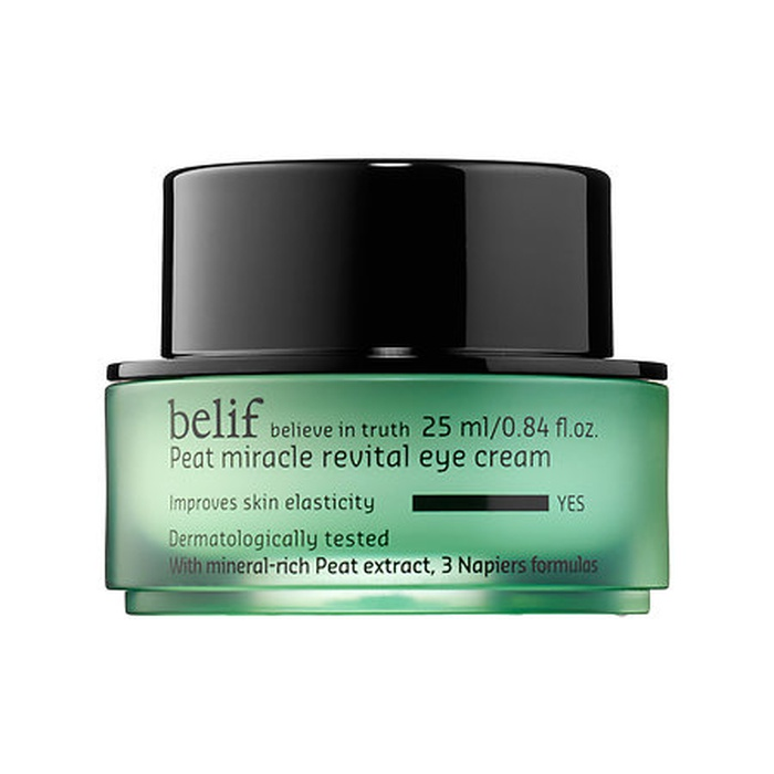 Best Natural Beauty Products - Belif Peat Miracle Revital Eye Cream