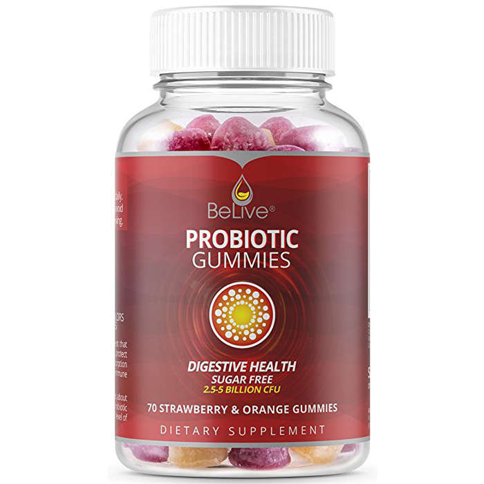 Best Probiotics For Women - BeLive Probiotic Sugar-Free Gummies