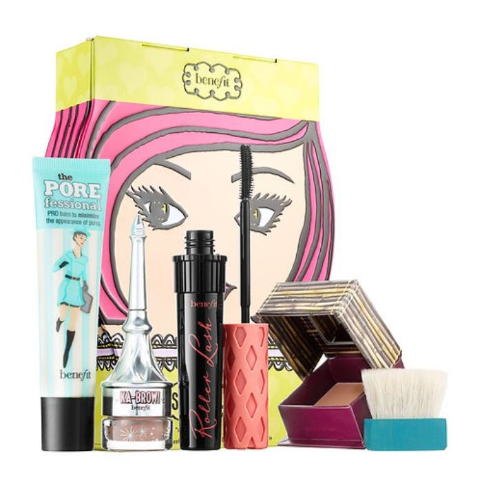 Best Top Beauty Gift Sets - Benefit Cosmetics Sassy Lassie Chick Picks Beauty Bestsellers Kit