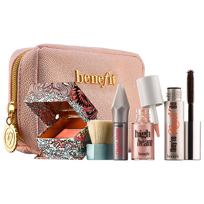 Best Travel Beauty Kits - Benefit Cosmetics Sunday My Prince Will Come Easy Weekender Makeup Kit