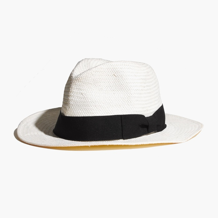 Best Ten Summer Musts for the Beach - Biltmore x Madewell Panama Hat