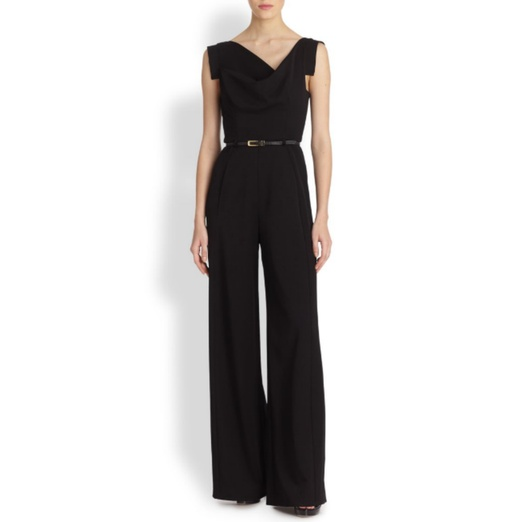 Best Black Sleeveless Jumpsuits - Black Halo Jackie O. Jumpsuit