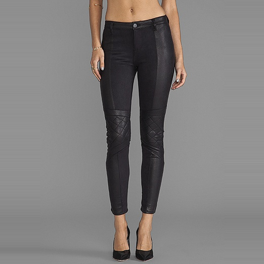 Best Faux Leather Leggings - Black Orchid Biker Legging