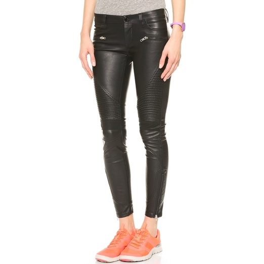 Best Faux Leather Leggings - Blank Denim Black Vegan Leather Moto Pants