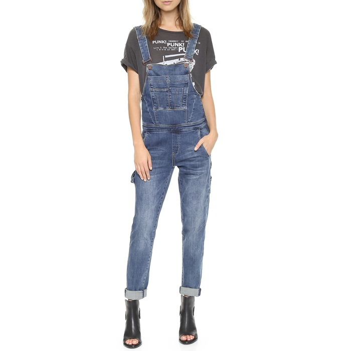 Best Denim Jumpsuits, Rompers & Dresses - Blank Denim Denim Overalls