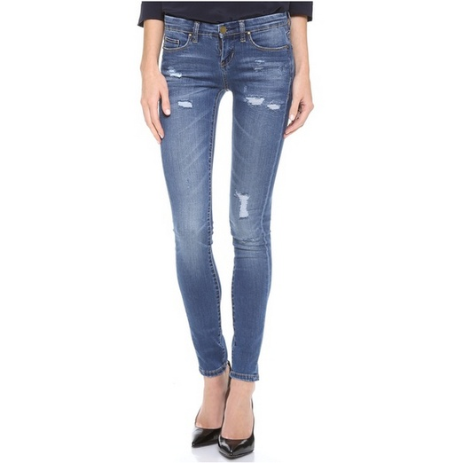Best Distressed Jeans For Spring - Blank Denim Skinny Jeans
