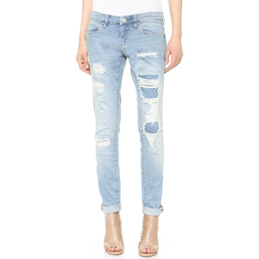 Blank Denim Skinny Jeans | Rank & Style
