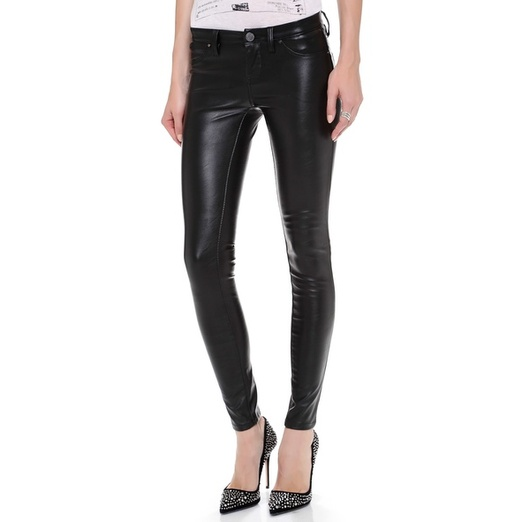 Best Faux Leather Leggings - Blank Denim Vegan Leather Skinny Pants