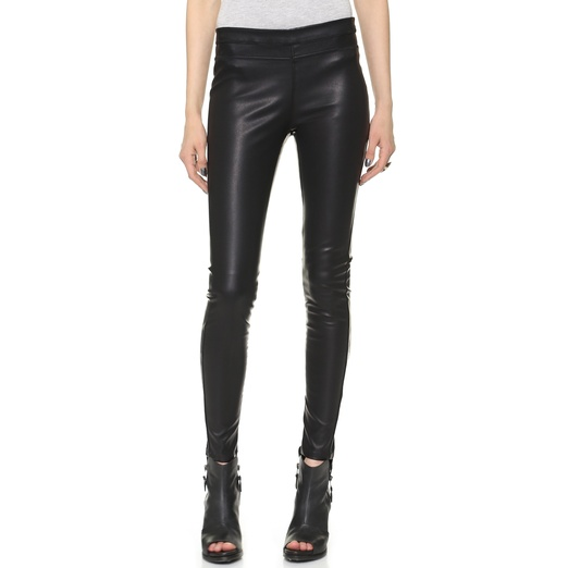 Best Faux Leather Leggings - Blank Denim Vegan Pull On Leggings