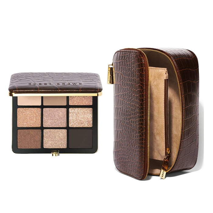 Best Indulge & inspire with the best beauty gifts - Bobbi Brown 'Scotch on the Rocks – Warm Glow' Eyeshadow Palette and Beauty Case