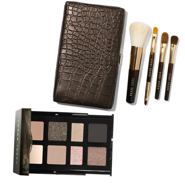 Best Best Beauty Gift Sets - Bobbi Brown Smokey Nudes Eyeshadow Palette and Mini Brush Set